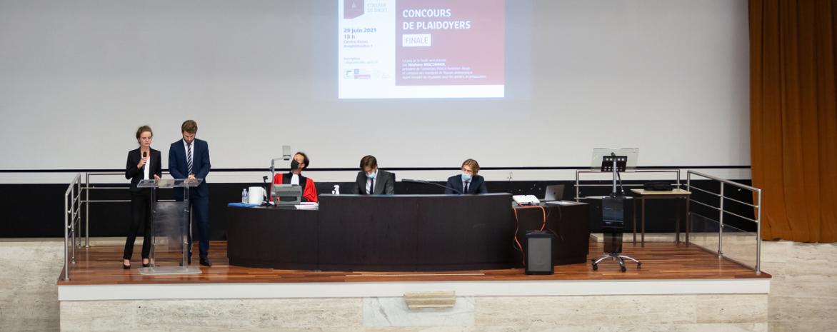 Concours de plaidoyers du Collège de droit
