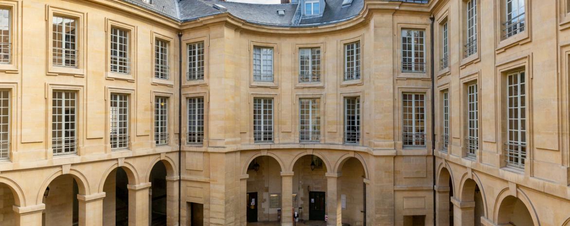 Cour d'honneur bâtiment Panthéon